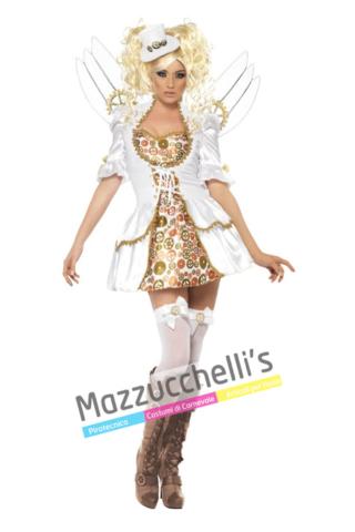 Costume Angelo Steampunk -Viaggio nel Tempo - Mazzucchellis