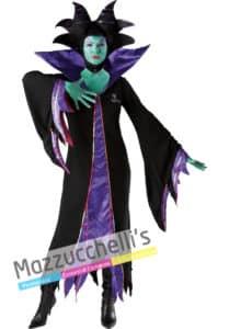 """costume da Donna della fantastica Strega Malefica cartone animato """"La Bella Addormentata Nel Bosco"""" Ufficiale Disney™"""
