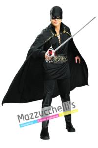 Costume Ufficiale Zorro fillm supereroe mascherato - Mazzucchellis