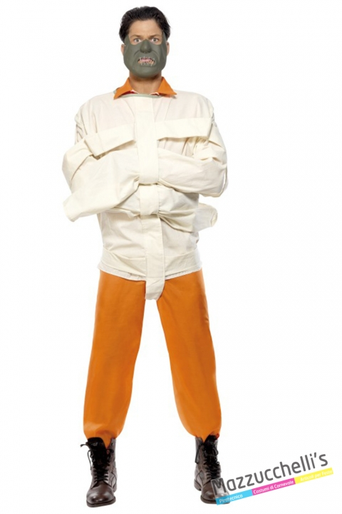 costume Hannibal Lecter film horror carnevale halloween o altre feste a tema - Mazzucchellis