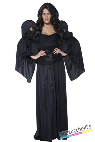 costume angelo nero halloween , carnevale o altre feste a tema - Mazzucchellis
