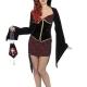 costume sexy vamp vampira halloween , carnevale o altre feste a tema - Mazzucchellis