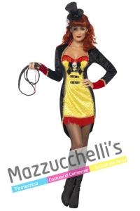 COSTUME DOMATRICE del circo HALLOWEEN - Mazzucchellis