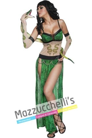 COSTUME DONNA sexy SERPENTE del circo - Mazzucchellis