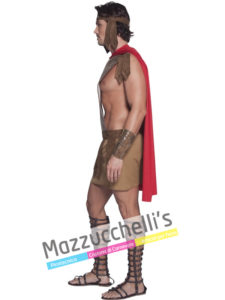 Costume Uomo Guerriero Gladiatore Guerriero Romano