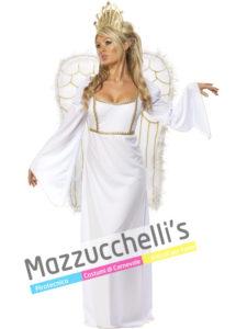 Costume Adulto Donna Angelo Bianco