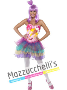 Costume Donna Famosa Cantante Katy Perry