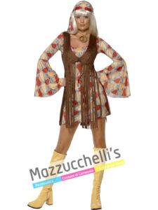 Costume Donna Hippie Anni '60 -'70