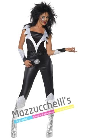 Costume Donna Rock Star Anni '80 - Mazzucchellis