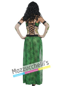 Costume Donna Serpente del Circo