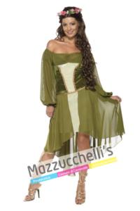 Costume Folletto del Bosco -Mazzucchellis