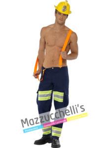 Costume Adulto Uomo sexy Mestieri lavori pompiere