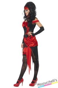costume diavoletta halloween , carnevale o altre feste a tema - Mazzucchellis