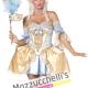 costume sexy dama azzurra anni '700 '800 - Mazzucchellis