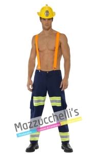 costume sexy mestieri lavori pompiere - Mazzucchellis