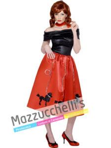 Costume Donna Betty Rizzo di Grease anni 50