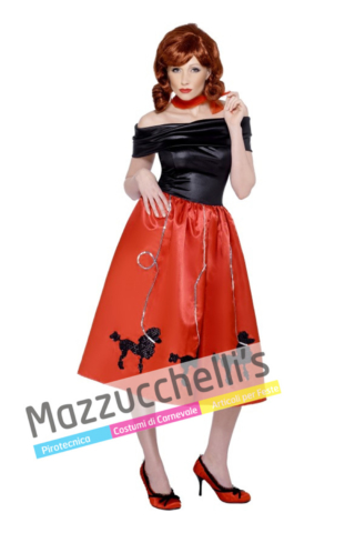 Costume Betty di Grease Anni 50 - Mazzucchellis