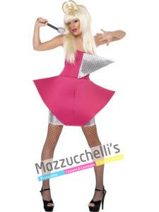 Costume donna cantante pop star Lady Gaga