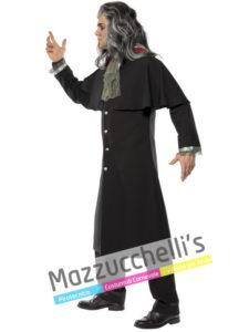 Costume Adulto Uomo Halloween Horror Conte Vampiro