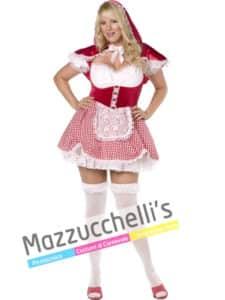 Costume Curvy Cappuccetto Rosso