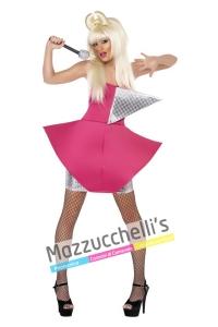 costume Cantante Famosa pop star lady gaga - Mazzucchellis