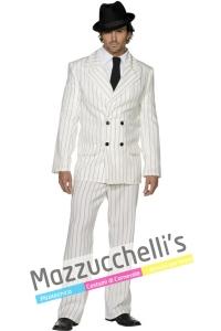 costume Gangster bianco Anni '20 - Mazzucchellis