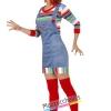 costume bambola assassina chucky film horror halloween , carnevale o altre feste a tema - Mazzucchellis