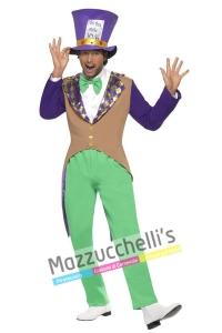 costume cappellaio matto di alice nel paese delle meraviglie - Mazzucchellis