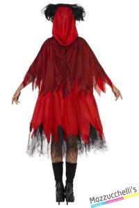 costume fiaba cappuccetto rosso horror halloween , carnevale o altre feste a tema - Mazzucchellis