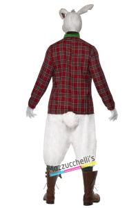 costume horror film coniglio di alice del paese delle meraviglie carnevale halloween o altre feste a tema - Mazzucchellis
