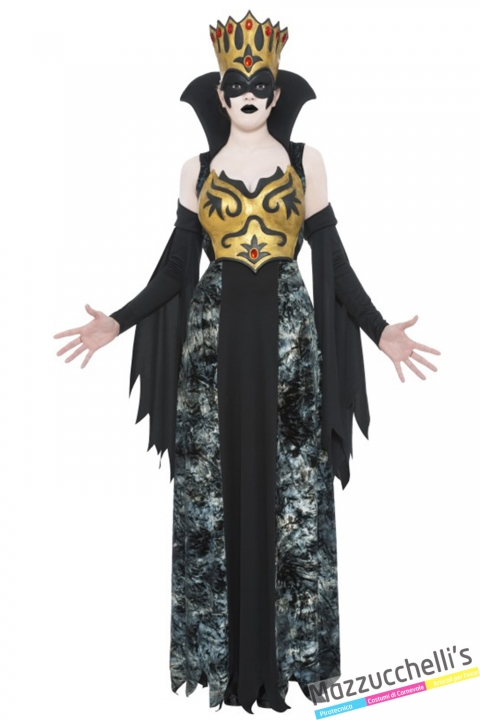 costume regina fantasma halloween , carnevale o altre feste a tema - Mazzucchellis
