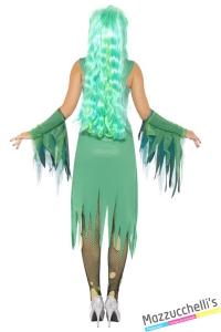 costume sirena gotica halloween , carnevale o altre feste a tema - Mazzucchellis