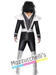 Costume Uomo Chitarrista Spaceman dei Kiss anni '80