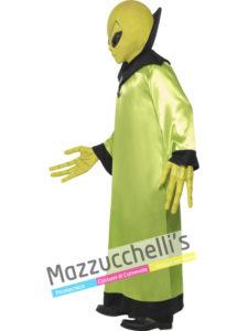 Costume Uomo Adulto Alieno Verde