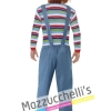Costume Adulto Uomo Chucky la Bambola Assassina