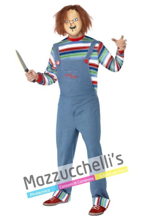 Costume Chucky la Bambola Assassina - Mazzucchellis