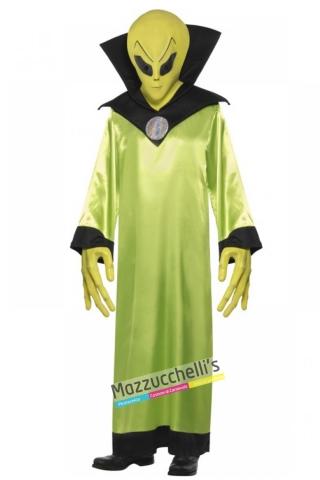 costume alieno film carnevale halloween o altre feste a tema - Mazzucchellis