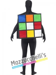 COSTUME DA CUBO DI RUBIK GIOCO - Mazzucchellis