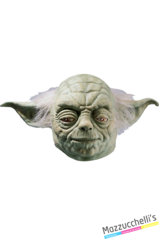 maschera yoda di star wars - Mazzucchellis