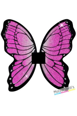 Ali Farfalla rosa con glitter farfalla fata - Mazzucchellis