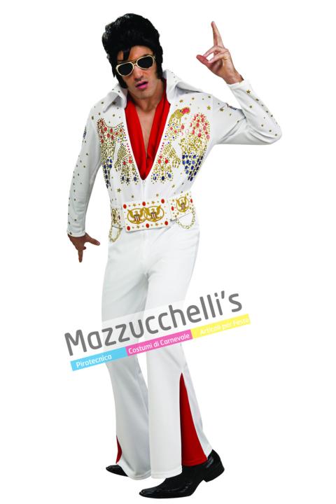 Costume Cantante Elvis Deluxe - Mazzucchellis