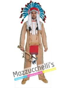 Costume Uomo Capo Indiano
