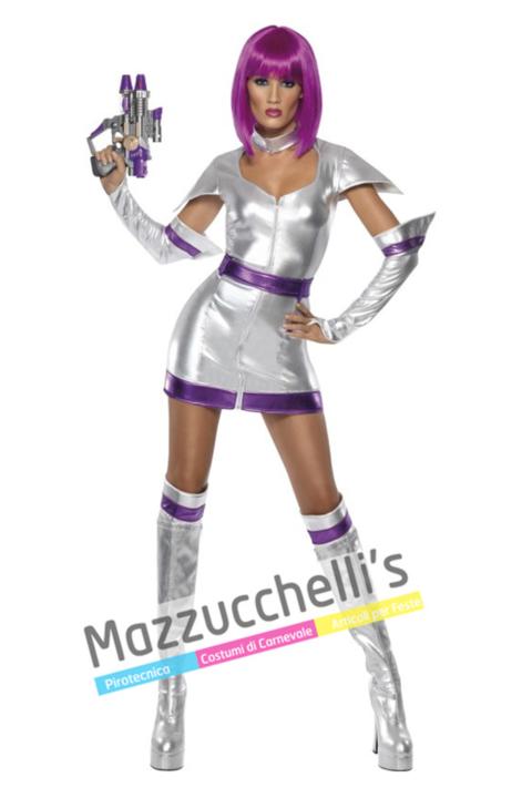 Costume Donna Dello Spazio – Astronauta - Mazzucchellis