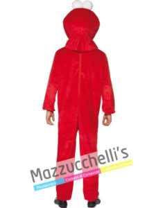 costume Uomo da Elmo è un Muppet che compare nella serie Sesame Street
