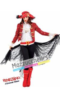 Costume Lady Corsara Piratessa - Mazzucchellis