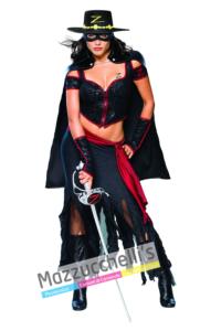 Costume Lady Zorro – Ufficiale - Mazzucchellis
