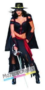 CostumeDonna Eroina Mascherata Lady Zorro - Ufficiale