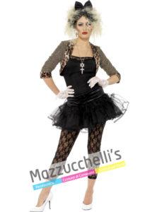 Costume Donna Madonna Cantante personaggio famoso Anni 80