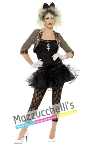 Costume Madonna Cantante famosa '80 - Mazzucchellis