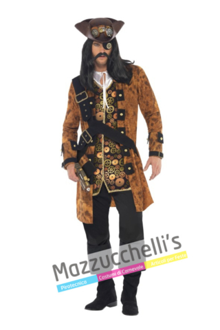 Costume Pirata Steampunk -Viaggio nel Tempo .. - Mazzucchellis